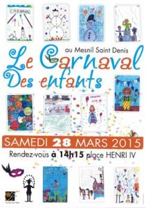 La fanfare au carnaval des enfants du Mesnil Saint Denis - 28 Mars 2015