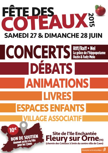 Flyer fête des Coteaux 2015